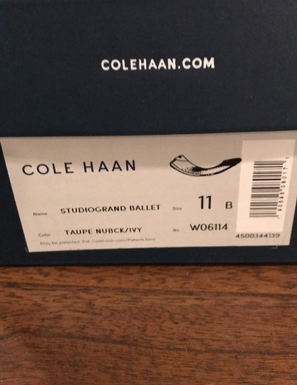 Cole Haan Taupe/Ivory Flats Image 3