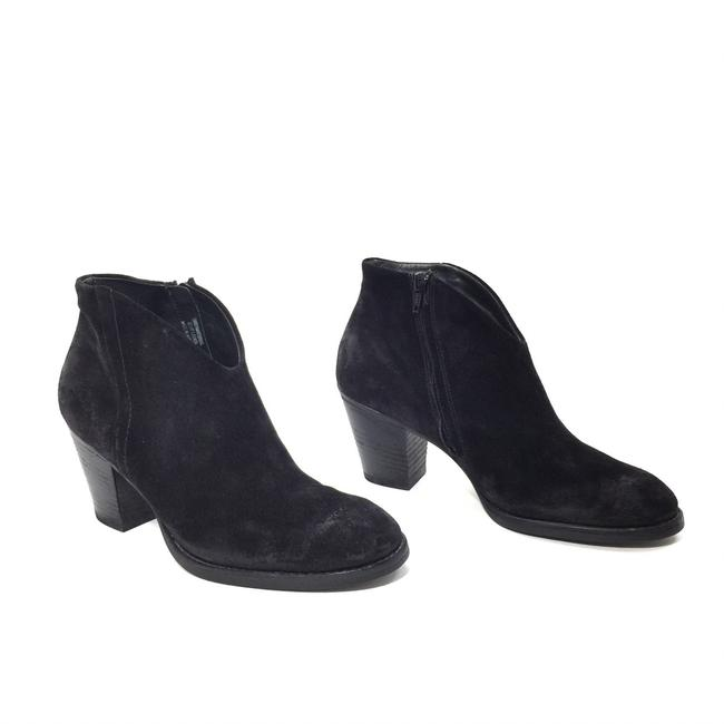Item - Black Distressed Suede Boots/Booties Size US 8 Regular (M, B)
