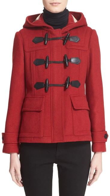 Item - Red Duffle Blackwell Short Wool Us Eu 44 Coat Size 10 (M)