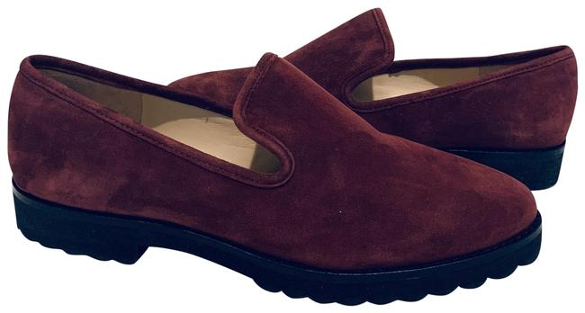 Item - Burgundy Suede Loafers/Sz:8/Nwt Flats Size US 8 Regular (M, B)