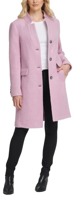 Item - Lilac Stand-collar Coat Size 10 (M)