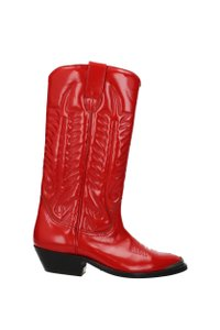 Golden Goose Deluxe Brand Red Boots