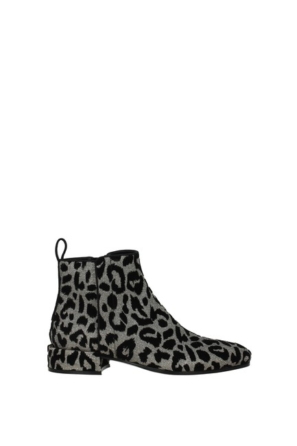 Item - Silver Ankle Napoli Woman Boots/Booties Size EU 38 (Approx. US 8) Regular (M, B)