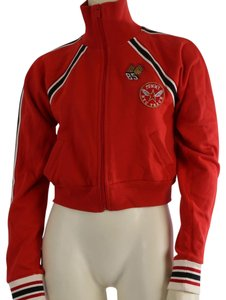 Tommy Hilfiger Casual Crop Red Jacket