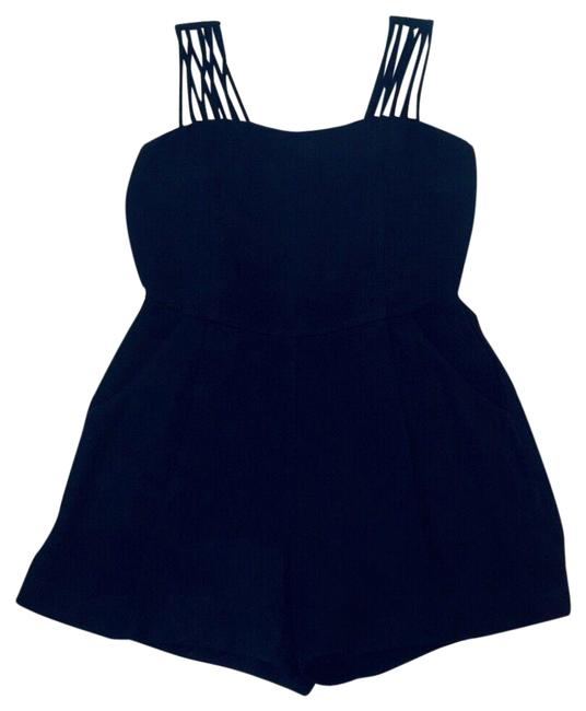 Item - Black Womens Melody Strappy Romper/Jumpsuit