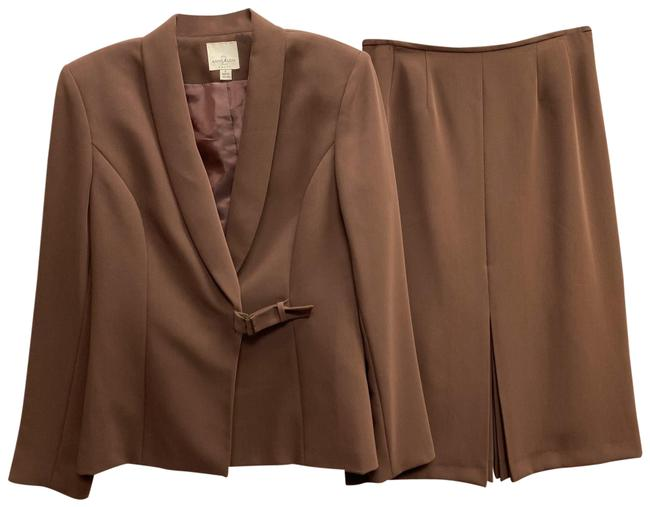 Item - Brown Skirt Suit Size 4 (S)