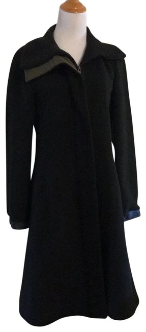 Item - Dark Charcoal with Dark Olive Lining S4310018l4 Coat Size 10 (M)