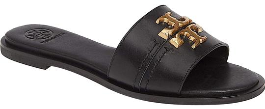 Tory Burch Black/Gold with Tag Everly