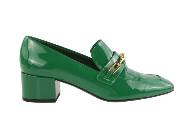 Item - Green Patent Leather Loafers Pumps Size EU 40 (Approx. US 10) Regular (M, B)