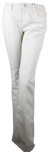 Item - Off White Women Dyed Washed Cotton Us 417283 9305 Flare Leg Jeans Size 27 (4, S)