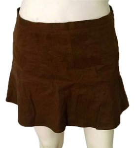 BCBGMAXAZRIA Mini Size 2 Above Knee P1366 Mini Skirt brown