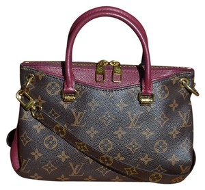 Louis Vuitton Satchel in Raisin & LV Monogram