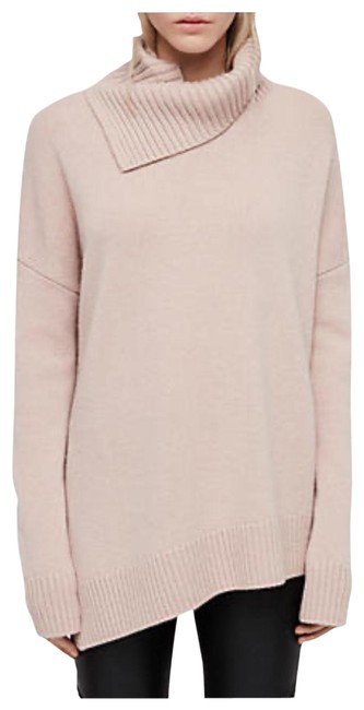 Item - Witby Roll Neck Pink/Nude/Dusty Rose/Whisper Pink Sweater