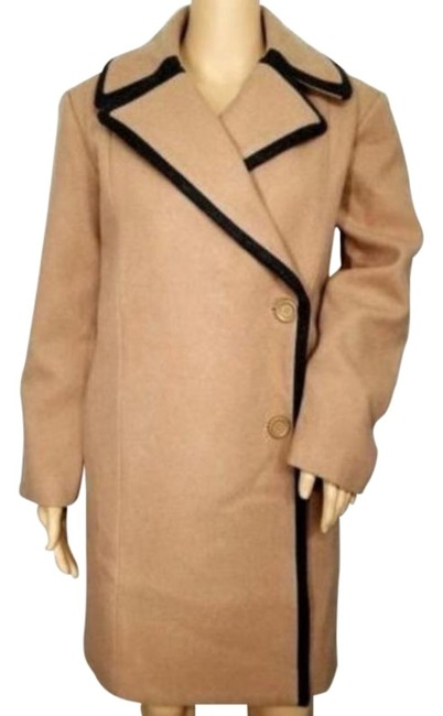 Item - Brown Saturday Walnut Piped Oversize Overcoat Coat Size 2 (XS)