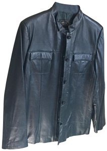 Terry Lewis Classic Luxuries Forest green Leather Jacket