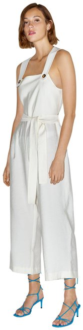 Item - Off-white Flowy with Wide Straps Romper/Jumpsuit
