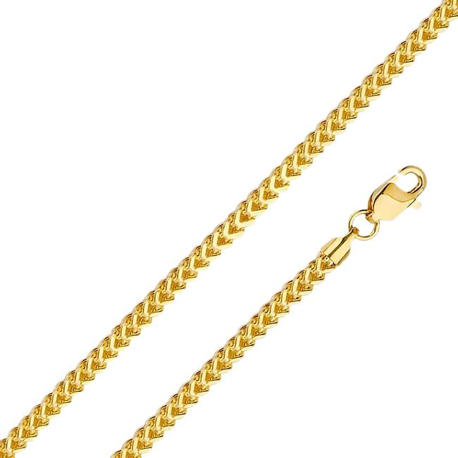 "Item - Yellow 14k 2.7mm Franco Chain - 22"" Necklace"