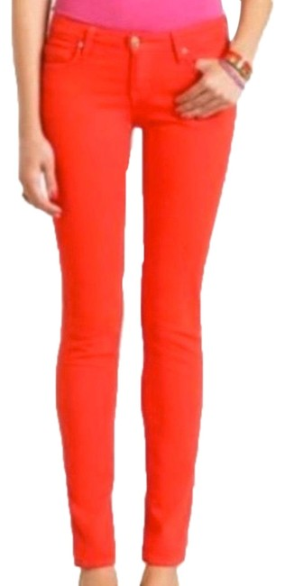 Item - Red Broome Street Play Hooky Skinny Jeans Size 0 (XS, 25)