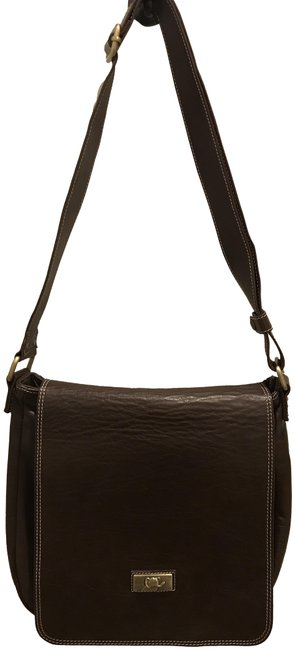 Item - Chocolate Brown Leather Satchel