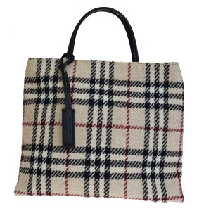 Burberry Made In Italy Tote in Pink Beige
