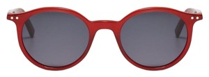 Céline Acetate red round sunglasses