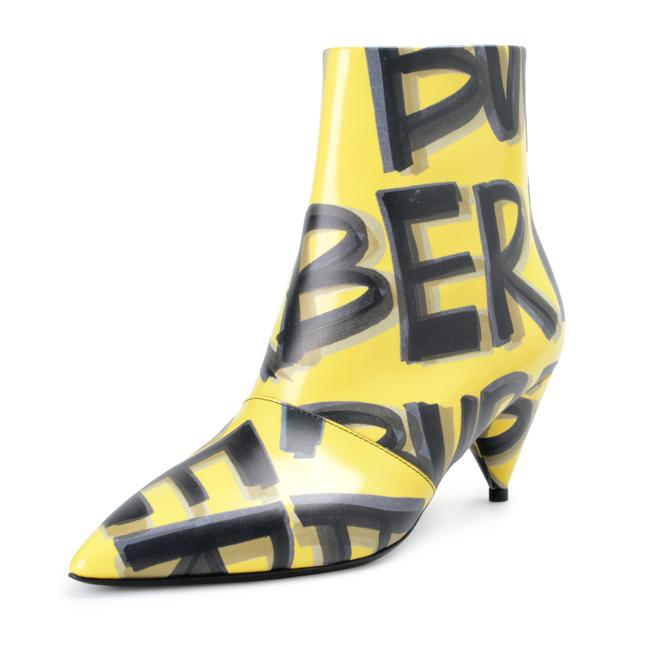 Item - Vibrant Yellow Shoes-4419 Boots/Booties Size US 8.5 Regular (M, B)