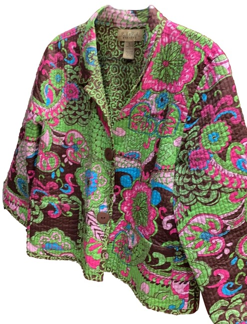 Preload https://img-static.tradesy.com/item/26224275/peck-and-peck-green-pink-brown-106539-reversible-jacket-at-blazer-size-16-xl-plus-0x-0-1-650-650.jpg