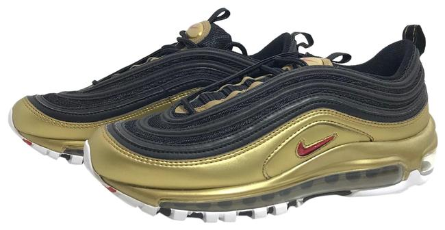 Item - Metallic Gold Red Black Air Max 97qs Sneakers Size US 5.5 Regular (M, B)