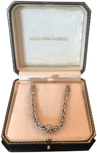 Bailey Banks Biddle Diamond knot necklace
