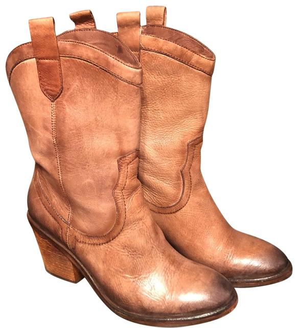 Item - Whiskey (Burnished Tan/Brown) Nile Boots/Booties Size US 7.5 Regular (M, B)