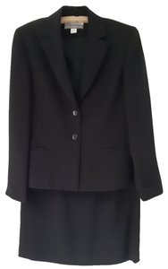 Petite Sophisticate Classic Black Skirt Suit Jacket