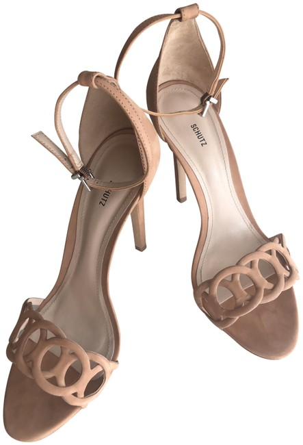 SCHUTZ Nude Toasted Nut Sthefany In New. Never Worn. Sandals Size US 9.5 Regular (M, B) SCHUTZ Nude Toasted Nut Sthefany In New. Never Worn. Sandals Size US 9.5 Regular (M, B) Image 1
