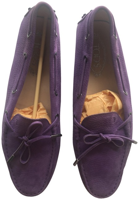 Item - Purple Gommino Loafer Or Driving Flats Size EU 42 (Approx. US 12) Regular (M, B)