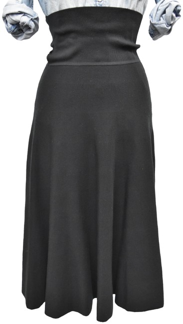 Item - Black Knit A-line Small Skirt Size 4 (S, 27)