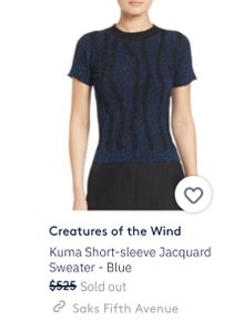 Creatures of the Wind Sweater