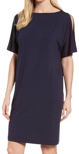 Preload https://img-static.tradesy.com/item/26225954/eileen-fisher-blue-kimono-midnight-slit-sleeve-bateau-neck-mid-length-short-casual-dress-size-6-s-0-1-650-650.jpg