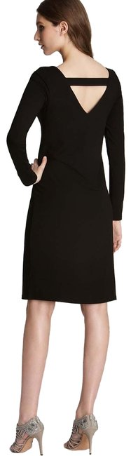 Preload https://img-static.tradesy.com/item/26226263/eileen-fisher-black-eyelet-cut-out-mid-length-workoffice-dress-size-petite-6-s-0-1-650-650.jpg