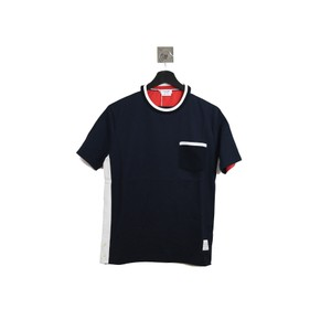 Thom Browne T Shirt Blue Red
