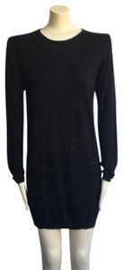Whistles short dress black Annie Sweater Fall Sparkle Holiday on Tradesy
