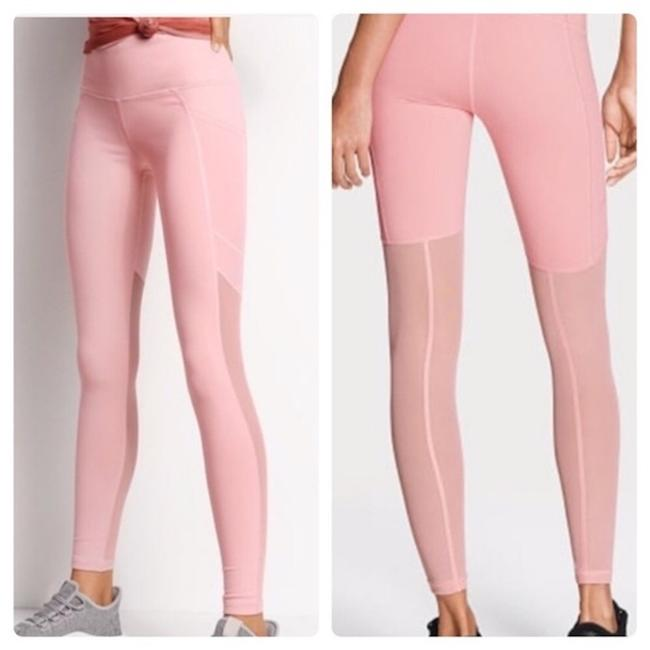 Item - Pink New Vs Vsx Sexy Sheer Mesh Knockout Tights Leggings Size 4 (S, 27)