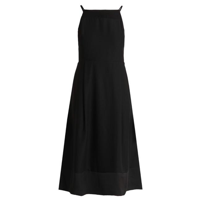 Item - Black Classic Pocketed Mid-length Cocktail Dress Size 10 (M)