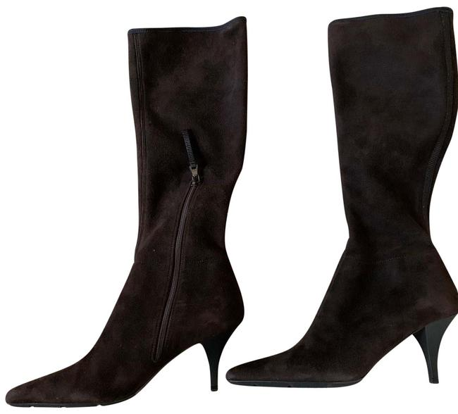 Item - Dark Brown Moro Boots/Booties Size EU 36.5 (Approx. US 6.5) Regular (M, B)