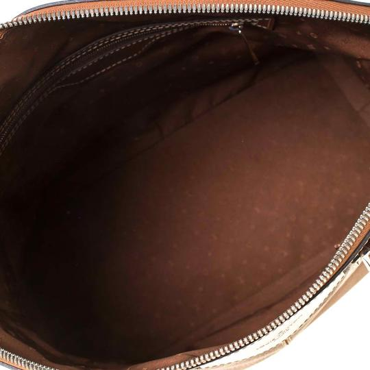Louis Vuitton Leather Tote in Brown Image 8