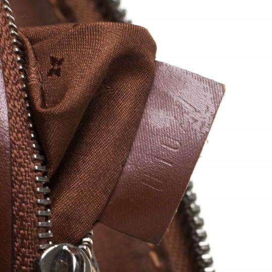 Louis Vuitton Leather Tote in Brown Image 9