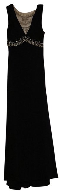 Item - Black Sequin Long Formal Dress Size 00 (XXS)