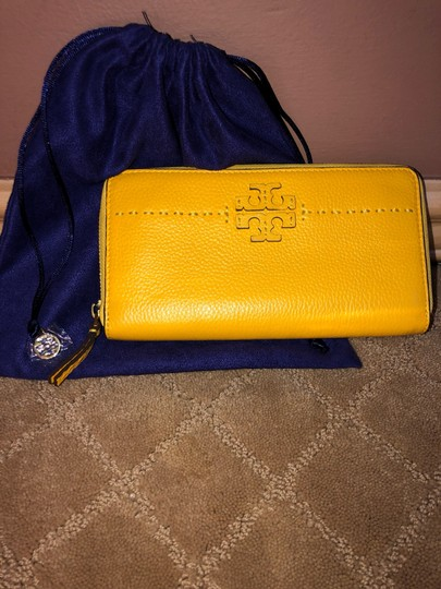 Tory Burch TORY BURCH MCGRAW ZIP CONTINENTAL WALLET Image 1