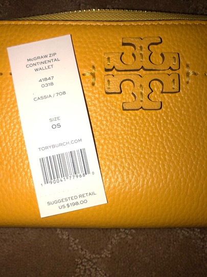 Tory Burch TORY BURCH MCGRAW ZIP CONTINENTAL WALLET Image 5