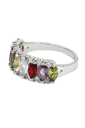 Ocean Fashion Sparkling candy crystal colorful ring Image 1