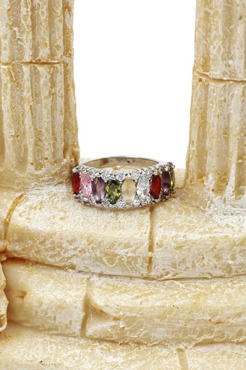 Ocean Fashion Sparkling candy crystal colorful ring Image 6