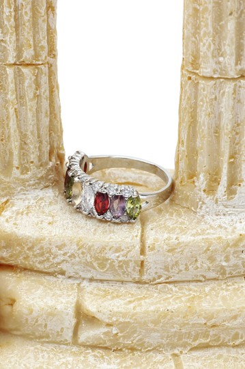Ocean Fashion Sparkling candy crystal colorful ring Image 8
